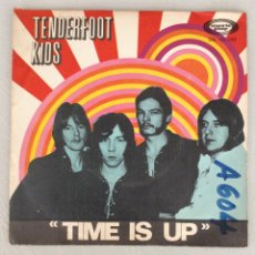 Discos de vinilo: TENDERFOOT KIDS. TIME IS UP. Lote 294125768