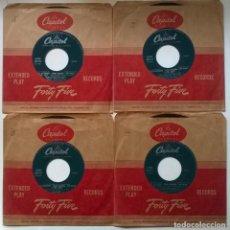 Discos de vinilo: RITA HAYWORTH/ FRANK SINATRA/ KIM NOVAK. PAL JOEY BSO (COLECCIÓN 4 EP'S). CAPITOL, CANADA 1959. Lote 294105423