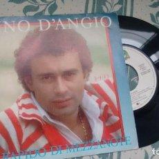 Discos de vinilo: SINGLE (VINILO) DE PINO D´ANGIO AÑOS 80. Lote 294129118
