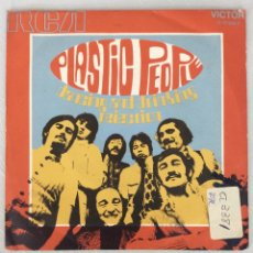 Discos de vinilo: PLASTIC PEOPLE. DANCING AND DRINKING. REJECTION.. Lote 294131693