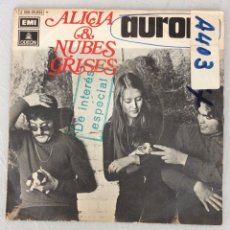 Discos de vinilo: ALICIA & NUBES GRISES. AURORA. CRUCES.. Lote 294132458