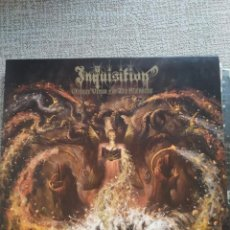 Discos de vinilo: INQUISITION - OBSCURE VERSES FOR THE MULTIVERSE (LIMITED TO 500 COPIES WORLDWIDE!). Lote 294140248