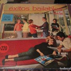 Discos de vinil: LP EXITOS BAILABLES ARIEL 1000 ARGENTINA 1958??? PAUL ANKA LLOYD PRICE JOE BENNETT ELEGANTS. Lote 294143628