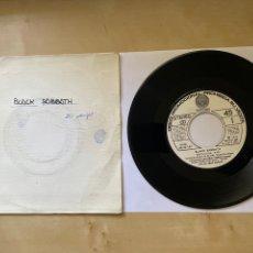 """Discos de vinilo: BLACK SABBATH - SHE'S GONE / IT'S ALRIGHT - SINGLE 7"""" SPAIN 1976 MUY RARO. Lote 294147628"""