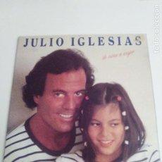 Discos de vinilo: JULIO IGLESIAS DE NIÑA A MUJER ( 1981 CBS ESPAÑA ) MUY BUEN ESTADO. Lote 294148518