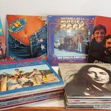 Discos de vinilo: LOTE DE 50 LPS / POP-ROCK VARIADO / BUENA CALIDAD GENERAL CON LEVES MARCAS DE USO. VER FOTOS.. Lote 294158558