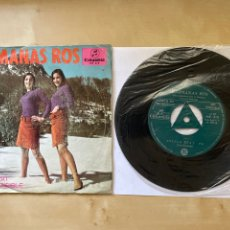 """Discos de vinilo: HERMANAS ROS - ESTILO BEAT / INCOMPRENSIBLE - SINGLE 7"""" SPAIN 1967 PROMO MUY RARO. Lote 294160008"""
