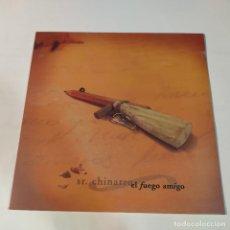 """Discos de vinilo: 1021- S.R CHINARRO EL FUEGO AMIGO 2005 VIN 12"""" LP NEW PRECINTED SPAIN 2021. Lote 294168388"""
