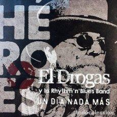 Discos de vinilo: EL DROGAS Y LA RHYTHM'N'BLUES BAND - SINGLE VINILO EDICIÓN LIMITADA 2018. Lote 294172063