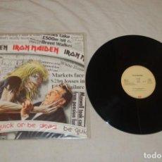 Discos de vinil: IRON MAIDEN - BE QUICK OR BE DEAD. Lote 294277293