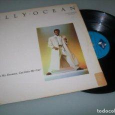Discos de vinilo: BILLY OCEAN - GET OUTTA MY DREAMS, GET INTO MY CAR .. MAXISINGLE DE 1988 - JIVE. Lote 294365568