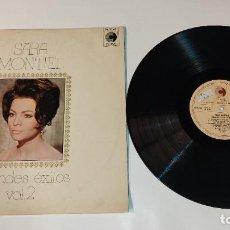 """Discos de vinilo: 1021-SARA MONTIEL GRANDES EXITOS VOL 2 VIN 12"""" LP 1972 SPAIN P G+ D VG. Lote 294368423"""