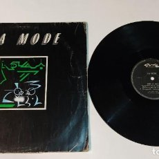 "Discos de vinilo: 1021- LA MODE ""SYNTH POP"" 1982 SPAIN MAXI SINGLE 12"" POR F DIS G. Lote 294370768"