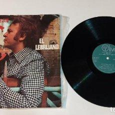 """Discos de vinilo: 1021- EL LEBRIJANO CANTE SE ESCRIBE CON C 1978 SPAIN VIN 12"""" LP P G+ D VG+. Lote 294371813"""