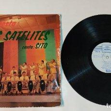 """Discos de vinilo: 1021- ORQUESTA LOS SATELITES CANTA SITO VIN 12"""" LP POR G DIS G 1975 SPAIN. Lote 294372343"""