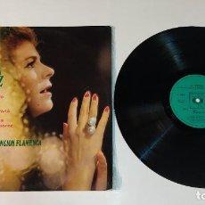 """Discos de vinilo: 1021- LA PAQUERA DE JEREZ ANTOLOGIA FLAMENCA VIN 12"""" LP P VG+ D VG+ SPAIN. Lote 294373263"""