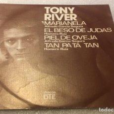Discos de vinilo: EP TONY RIVER - MARIANELA Y OTROS TEMAS - DTE EP22400 -PEDIDO MINIMO 7€. Lote 294374953