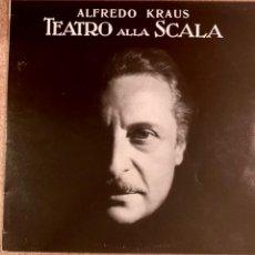 Discos de vinilo: ALFREDO KRAUS - TEATRO DE LA SCALA. Lote 294383633