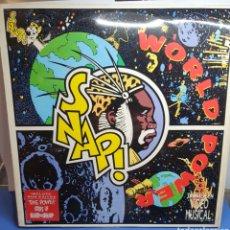 Discos de vinilo: SNAP! WORLD POWER LP. Lote 294433843