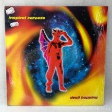 Discos de vinilo: LP - VINILO INSPIRAL CARPETS - DEVIL HOPPING + ENCARTE - UK - AÑO 1994. Lote 294438463