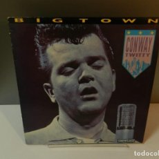 Discos de vinil: DISCO VINILO LP. CONWAY TWITTY – BIG TOWN. 33 RPM.. Lote 294439758