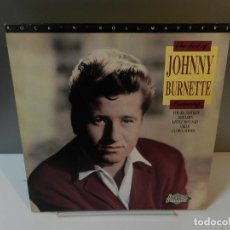 Discos de vinil: DISCO VINILO LP. JOHNNY BURNETTE – THE BEST OF JOHNNY BURNETTE. 33 RPM.. Lote 294440973