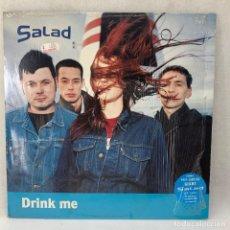 Discos de vinilo: LP - VINILO SALAD - DRINK ME + ENCARTE + PÓSTER - UK - AÑO 1995. Lote 294443483