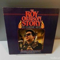 Discos de vinil: DISCO VINILO LP. ROY ORBISON – THE ROY ORBISON STORY 20 CLASSIC HITS. 33 RPM.. Lote 294443683