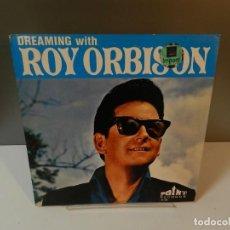 Discos de vinilo: DISCO VINILO LP. ROY ORBISON – DREAMING WITH ROY ORBISON. 33 RPM.. Lote 294446238