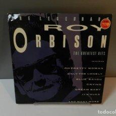 Discos de vinilo: DISCO VINILO LP. ROY ORBISON – THE LEGENDARY ROY ORBISON. 33 RPM.. Lote 294448328