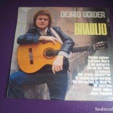 Discos de vinilo: BRAULIO – DEJALO VOLVER - LP BELTER 1975 - MELODICA 70'S SIN ESTRENAR -. Lote 294448768