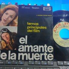 Discos de vinilo: EL AMANTE DE LA MUERTE EP B.S.O. ESPAÑA 1963. Lote 294451618