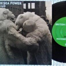 "Discos de vinilo: BRITISH SEA POWER - "" FACTS ARE RIGHT "" SINGLE 7"" LIMITED 750 COPIES UK 2013. Lote 294452098"