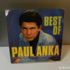 Discos de vinilo: DISCO VINILO LP. PAUL ANKA – BEST OF PAUL ANKA. 33 RPM.. Lote 294452293
