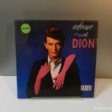 Discos de vinilo: DISCO VINILO LP. DION – ALONE WITH DION. 33 RPM.. Lote 294452633