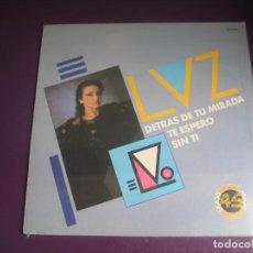 Discos de vinilo: LUZ CASAL – DETRÁS DE TU MIRADA / TE ESPERO +1 MAXI SINGLE ZAFIRO 1984 PRECINTADO - ASTURIAS ROCK. Lote 294454383