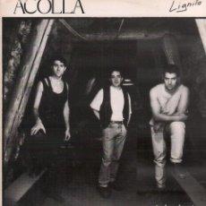 Discos de vinilo: ACOLLA - LIGNITO / LP KIKOS DE 1992 / BUEN ESTADO / RF-10613. Lote 294456073