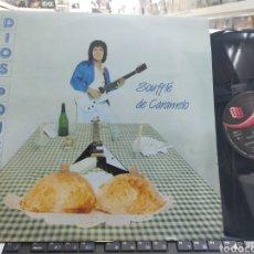 Discos de vinilo: DIOS PONCE MINI LP SOUFFLE DE CARAMELO + 3 CON AZUCENA 1986. Lote 294457708