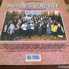 Dischi in vinile: USA FOR AFRICA - WE ARE THE WORLD - LP ORIGINAL CBS ESPAÑA 1985 CARPETA DOBLE - BUEN ESTADO. Lote 294459518