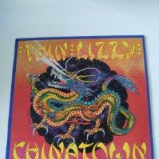 Discos de vinilo: THIN LIZZY CHINATOWN ( 1980 VERTIGO ESPAÑA ) ORIGINAL CON FUNDA INNER BUEN ESTADO PHIL LYNOTT. Lote 294460208