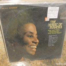 Discos de vinilo: LOTT147 LP THE MAGIC OF MIRIAM MAKEBA USA 70S BUEN ESTADO GENERAL DYNAGROOVE. Lote 294460923