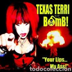 Discos de vinilo: TEXAS TERRI BOMB!–YOUR LIPS... MY ASS! . LP VINILO NUEVO PRECINTADO. PUNK ROCK.. Lote 294461938