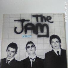Discos de vinilo: THE JAM IN THE CITY ( 1977 POLYDOR ESPAÑA ) PRIMERA EDICION ORIGINAL CONTIENE EL INNER EXCELENTE EST. Lote 294473258