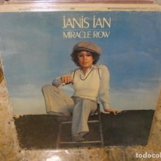 Discos de vinilo: CAJJ146 LP FOLK UK 1977 GATEFOLD BUEN ESTADO JANIS IAN MIRACLE ROW. Lote 294478138