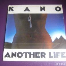Discos de vinilo: KANO – ANOTHER LIFE - LP HISPAVOX 1983 PRECINTADO - ITALODISCO - ELECTRONICA DISCO 80'S. Lote 294480488