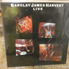 Discos de vinilo: CAJJ146 DOBLE LP BARCLAY JAMES HARVEST LIVE UK 1974 MUY BUEN ESTADO MUY BONITO. Lote 294481813