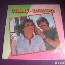 Discos de vinilo: TORRES Y CASANOVA - LP ZAFIRO 1984 PRECINTADO - ITALIA FOLK POP 80'S. Lote 294482488