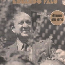 Discos de vinilo: EDUARDO FALU - A QUE VOLVER, TIRO LIBRE, PAPERADA.../ LP PHILIPS 1975 / BUEN ESTADO RF-10625. Lote 294485153