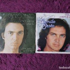 Discos de vinilo: CAMILO SESTO ,2 X VINILO, SINGLE SPAIN. Lote 294487933