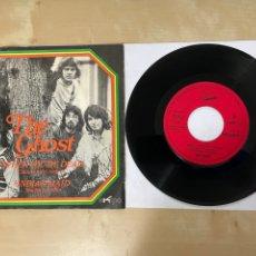 "Discos de vinilo: THE GHOST - WHEN YOU'RE DEAD (CUANDO ESTES MUERTO) / INDIAN MAID - SINGLE 7"" SPAIN 1971 PROMO. Lote 294491158"